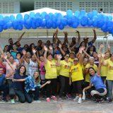 Atividade física e saúde em destaque durante atividade no Campus II