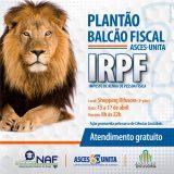 Ciências Contábeis realiza plantão fiscal entre os dias 15 e 17 de abril