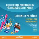 II Ciclo de estudos previdenciários será realizado na Asces-Unita