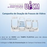 Projeto de extensão realiza atividade para mães e captação de vidros para doação de leite materno