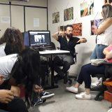 Estudantes de Jornalismo participam de oficina com Bira Nunes