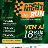 IV edição da corrida Caruaru Night Run acontece em 18 de maio