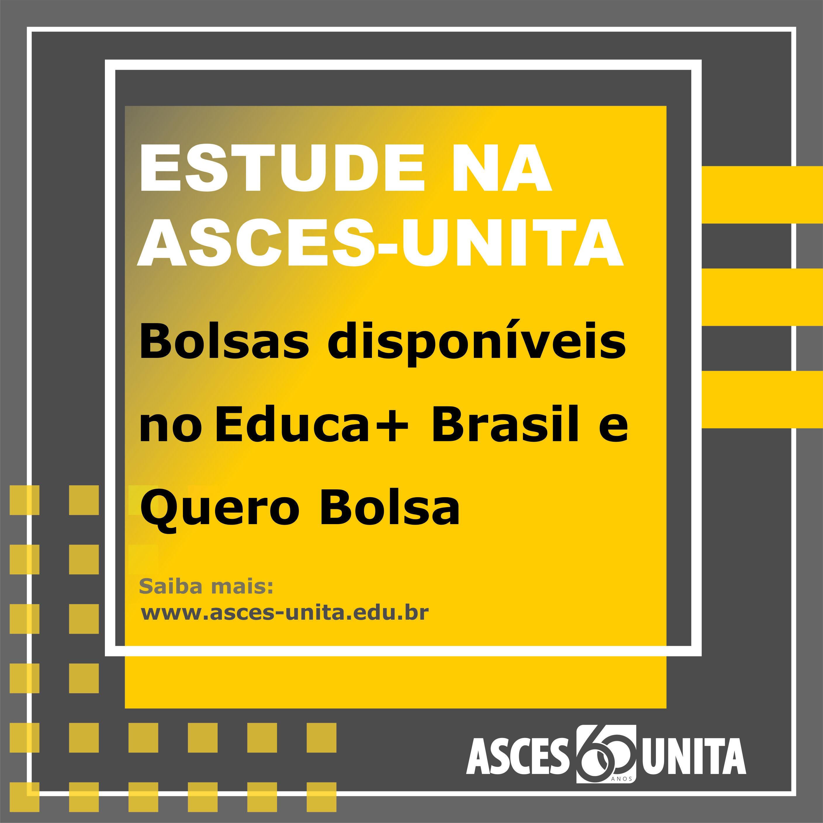 Vagas disponíveis para bolsas no Educa+ Brasil e Quero Bolsa
