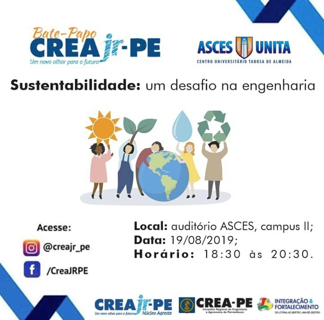 Bate-papo sobre sustentabilidade será realizado na Asces-Unita