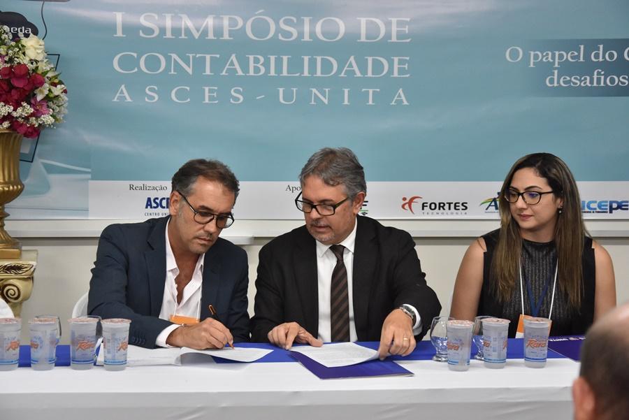 Ciências Contábeis firma convênio com a SEFAZ-PE
