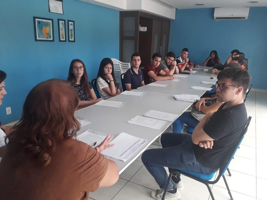 Reunião dos aprovados para o programa de bolsistas