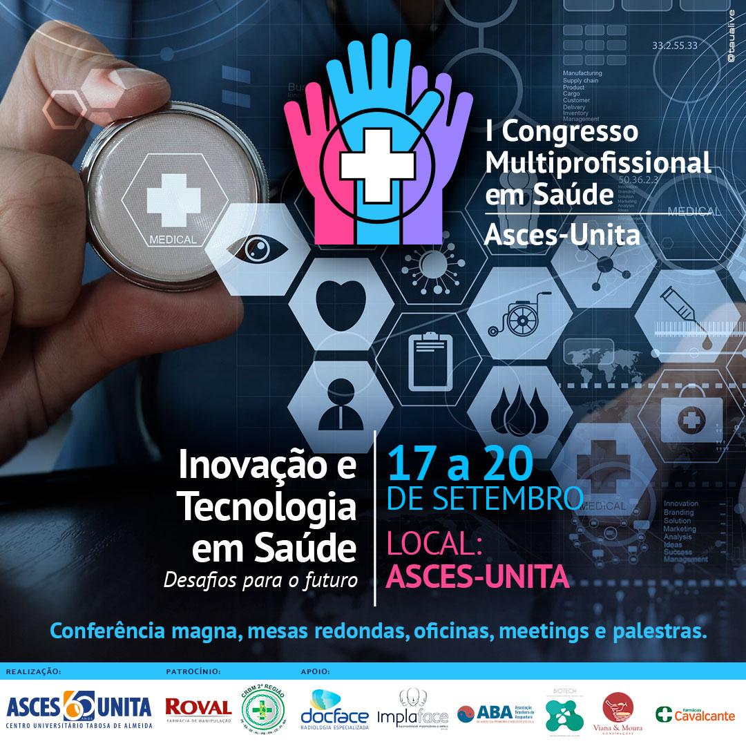 Confira os trabalhos aprovados para o Congresso Multidisciplinar de Saúde