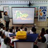 Projeto Escola Legal levou cinema para a criançada