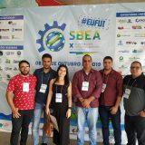 Estudantes de Engenharia Ambiental participam do X SBEA