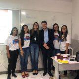 Projeto Conta + visita escolas levando educação financeira aos jovens