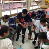 Estudantes do PIBID realizam recreação em comemoração ao dia das crianças