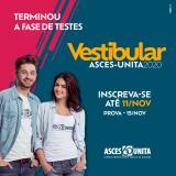 Inscrições abertas para o Vestibular 2020