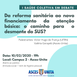 Curso de Saúde Coletiva promove palestra