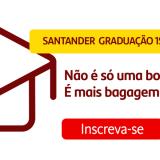 Seleção para bolsas de estudo através do Banco Santander