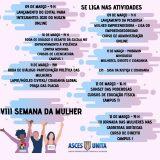 VIII Semana da Mulher será promovida na Asces-Unita