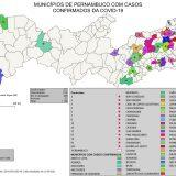 Curso de Engenharia Ambiental mapeia casos de Coronavírus em Pernambuco