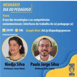 Dia do Pedagogo será comemorado com webnário