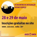 IV Encontro de Integração Ensino Serviço será online