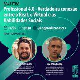 Palestra traz relação entre real, virtual e habilidades sociais, nesta quinta (14)