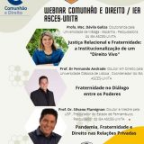 Participe do webnar Comunhão e Direito