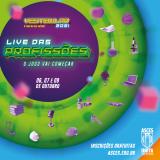 Confira a agenda por curso na Live das Profissões