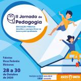 II Jornada de Pedagogia será realizada entre 28 e 30 de outubro