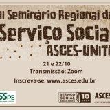 II Seminário Regional de Serviço Social com últimas vagas disponíveis