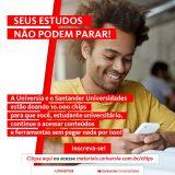Santander e Asces-Unita em mais uma parceria que beneficiará estudantes com chips