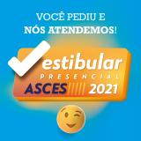 Asces-Unita lança Vestibular Presencial 2021