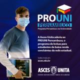 Asces-Unita tem vagas para o Prouni-PE, participe!