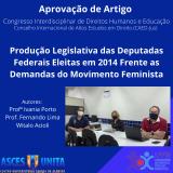 Artigo científico fruto do INICIA é aprovado para Congresso Interdisciplinar de Direitos Humanos e Educação