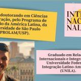 Projeto Internacionalize promove palestra com assessor de R.I da prefeitura de São Paulo