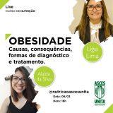 Curso de Nutrição promove live sobre Obesidade