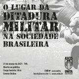 Ditadura Militar será tema de evento online