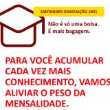 Estudante Asces-Unita pode obter bolsa de estudos pelo Santander