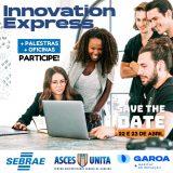 Inovação será tema de evento promovido pela Asces-Unita em parceria com o Sebrae