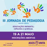 III Jornada de Pedagogia será promovida entre 19 e 21 de maio