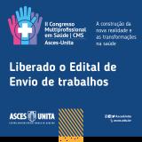 Confira normas para trabalhos do II Congresso Multiprofissional de Saúde