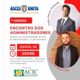 """Curso de Administração promove """"Encontro dos Administradores"""" na Acic"""