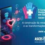 Destaques nacionais na programação do II Congresso Multiprofissional em Saúde. Confira!